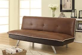 brown microfiber sofa bed coated microfiber sofa bed with tufting quality furniture at