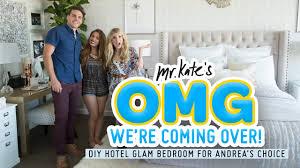 diy hotel glam bedroom for andrea u0027s choice interior design youtube