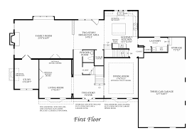 Georgian Floor Plan by Beekman Chase The Columbia Home Design