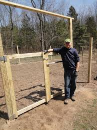 Build Vegetable Garden Fence by The Military Family Getting Ready To Garden How To Build A Fence