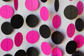 mesmerizing pink and black birthday party decorations perfect
