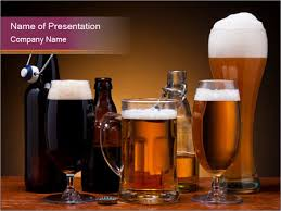 drink beer in pub powerpoint template u0026 backgrounds id 0000019427