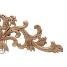 runbazef furniture decorative wood carving door decals bed