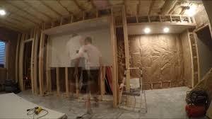 6 finishing basement drywall installation youtube