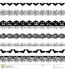 halloween seamless border stock images image 26956944