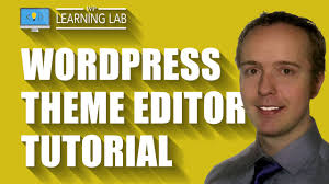 wordpress quick tutorial quick wordpress theme editor tutorial wp learning lab youtube