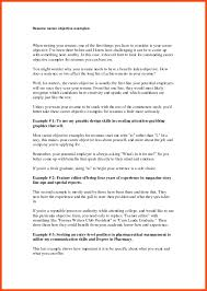 28 curriculum vitae objective statement examples resume for