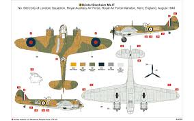 Air Force 1 Layout by Airfix A04059 Bristol Blenheim Mk If 1 72