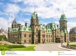 canadian parliament building ottawa canada royalty free stock