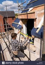 self building house constructing roof carpenter making dormer