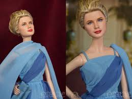 ooak grace kelly barbie to catch a thief by narae by naraedoll on