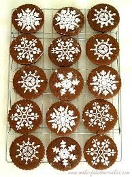 snowflake cookies cookies