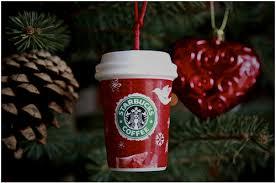 Starbucks Christmas Decorations Starbucks Christmas Tree Ornaments Beatiful Tree