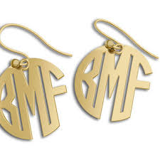 name plate earrings shop nameplate letters on wanelo