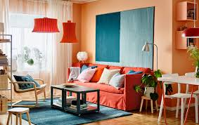Living Room Decorating Ideas For Small Spaces Living Room Small Space Orange Color Living Room Decor Ideas
