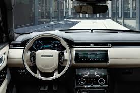 navy range rover range rover velar revealed price specs u0026 interior autocar