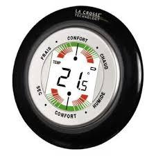 thermometre chambre b thermomètre hygromètre la crosse technology wt138 b bli achat