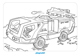 coloriages de dessins animés playmobil
