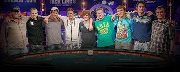 wsop final table the nine 2011 wsop final table live espn world series of poker