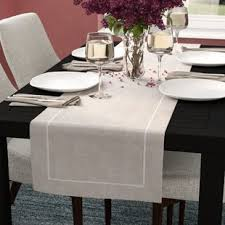 dining room table runner table runners you ll love wayfair