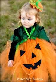 Halloween Costume Pumpkin Pumpkin Tutu Dress Jack Lantern Dress Infant Toddler
