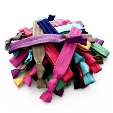 no crease hair ties ribbon hair bands no tangle no crease ties rainbow