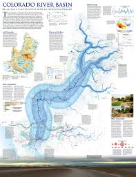 Colorado River Basin Map by Hydro Logic Happy New Water Year