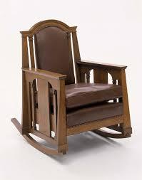 Mission Oak Rocking Chair Rocking Chair Museum Of Fine Arts Boston