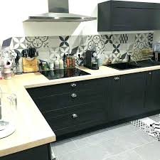 cuisine noir bois cuisine noir et bois 9n7ei com