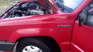 mitsubishi trucks 1990 1990 mitsubishi mighty max full walk around youtube