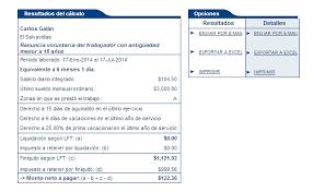calculadora de salario diario integrado 2016 cuánto debo cobrar por mi finiquito explicando tus derechos laborales