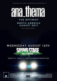 When Darkness Turns To Light It Ends Tonight Anathema U2013 Tickets U2013 Baltimore Soundstage U2013 Baltimore Maryland