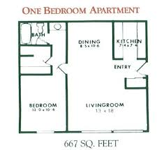 Floor Plan Apartment Design 12 Best Floorplans Images On Pinterest Apartments 1 Bedroom