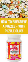 mod podge puzzle saver how to use puzzle glue crafts pound
