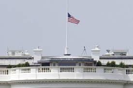 Flag Flown At Half Mast Obama Orders Flags At Half Staff