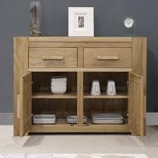Solid Oak Buffet by Trend Solid Oak Small 2 Door Sideboard Oak Furniture Uk