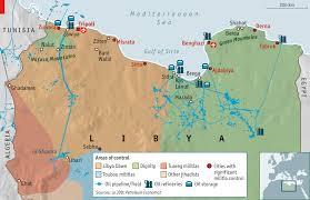 Civil War States Map That It Should Come To This Libya U0027s Civil War