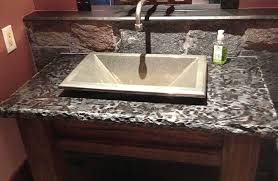 Bathroom Vanity Counters Sink Amazing Ideas Granite Bathroom Vanities With Black Tops