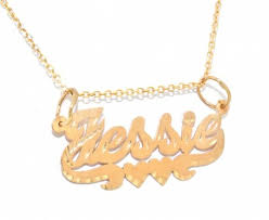 gold chain with name gold diamond nameplates
