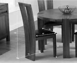 Oak Furniture Dining Tables Rutland Solid Chunky Oak Furniture Large Dining Table And 6