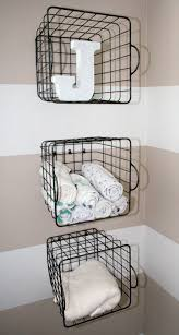 Baskets For Bookshelves Clever Nursery Organization Ideas Project Nursery