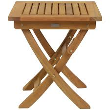 Folding Wooden Garden Table Small Garden Side Table Nrhcares