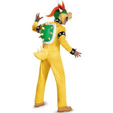 super mario deluxe bowser costume for adults buycostumes com