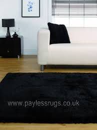 Black Large Rug Starlet Twilight Black Rug Quality Rugs At Affordable Prices