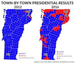 2012 Presidential Election Map by 5 Things To Know About Vermont U0027s 2016 General Election Results