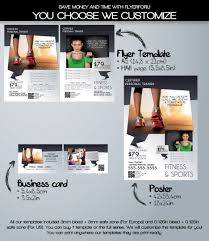printable fitness flyers