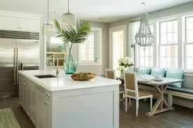 swedish home interiors with silver refrigerator kitchen beach
