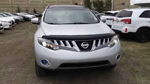 nissan murano used review pre owned silver 2009 nissan murano awd le walk through review