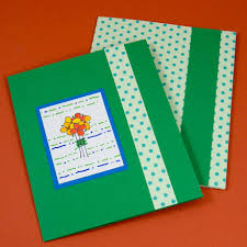 How To Make A Card Envelope - tutorial for making a greeting card pocket folder greeting card