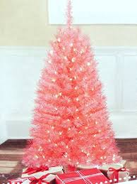 fanciful light pink tree 3 prelit lights artificial trees